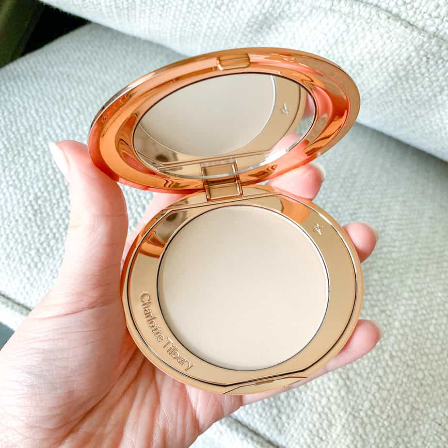 charlotte tilbury airbrush flawless finish powder review cruelty free beauty reviews